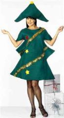 Ladies Xmas Tree Costume